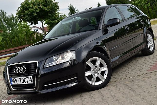 Audi A3 Audi A3 2.0tdi 140km 5drzwi Nawigacja 2xkoła 100%oryg