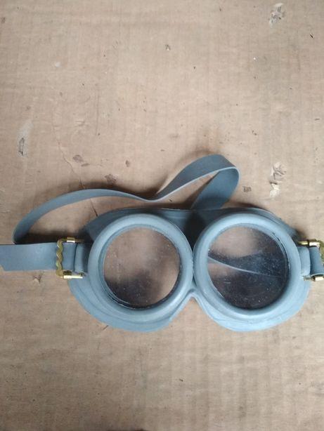 Okulary motocyklowe PRL