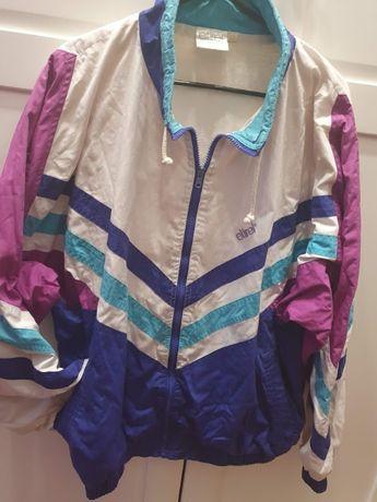 Oldschool dresowa kurtka, bluza l.80te, oversize M, unisex