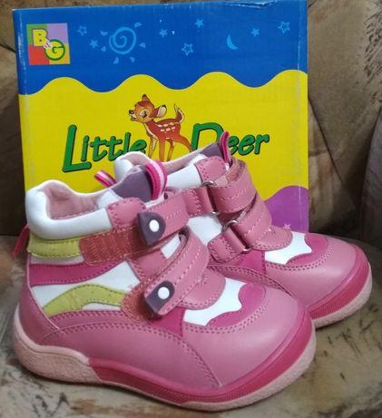Ботинки зимние для девочки р.25 little deer (B&G) сапоги сапожки