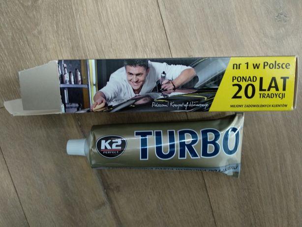 Pasta woskowa do lakieru K2 Perfect Turbo 120g nowa