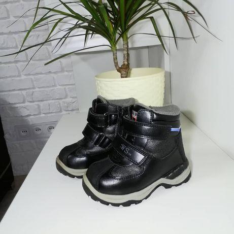 продам кожаные зимнии  очень тёплые ботинки