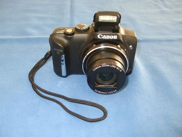 Máquina Fotográfica Canon SX170IS-16.0MegaPixels