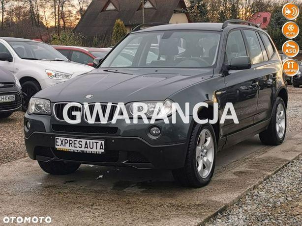 BMW X3 Parktronic * skóra *Alufelga * asystent zjazdu*serwisy *gwarancja