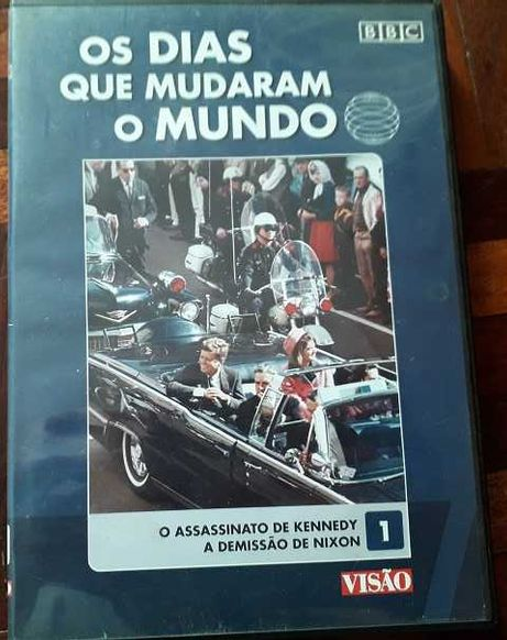 """DVD """"Os dias que mudaram o Mundo"""""""