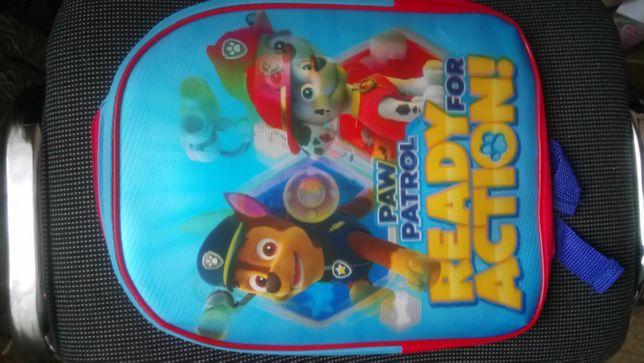 Фірмовий рюкзак Щенячий патруль з голограмою, оригінал від Nickelodeon