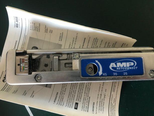 AMP Netconnect TYCO - narzedzie do zarabiania złaczek UTP / FTP