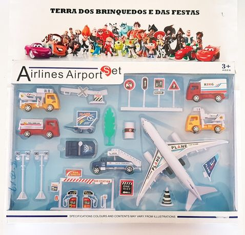 Conjunto 18 pcs Aeroporto (Portes Incluidos)