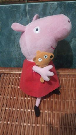 Мягкая игрушка свинка Рерра