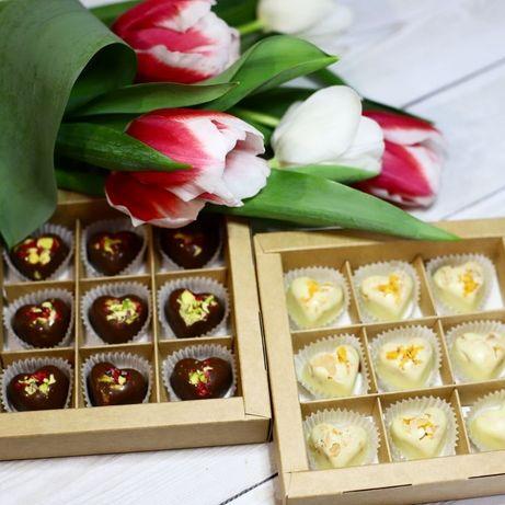 Подарок на 8 марта, Конфеты/шоколад ручной работы