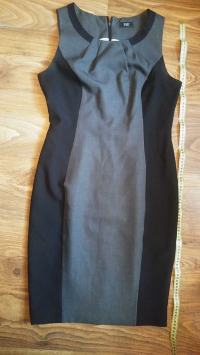 Sukienka 38 szaro czarna garsonka. Międzyrzec Podlaski - image 1