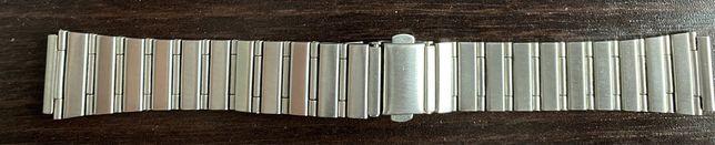 Nowa. Bransoleta męska srebrna stalowa 18mm