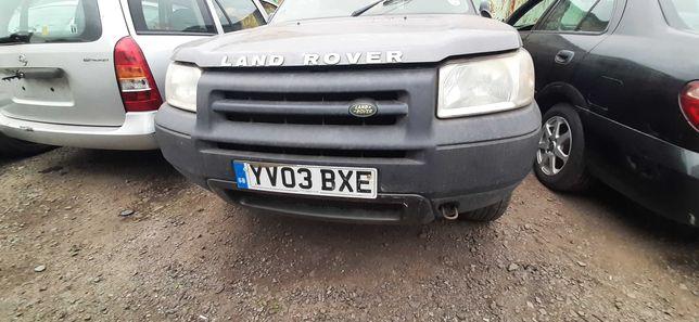 Land Rover Freelander części zderzaki, drzwi, dyfer, reduktor, lampy