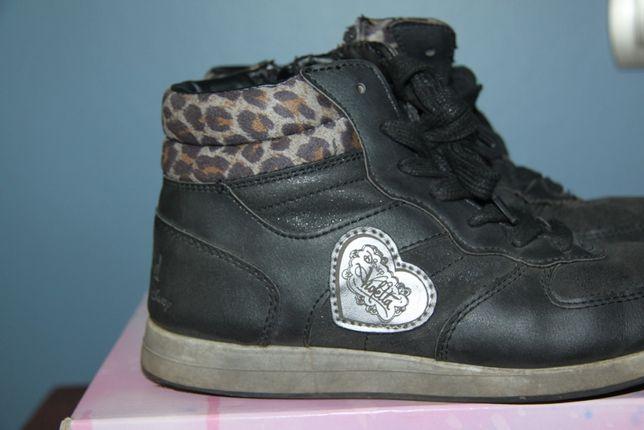 buty jesienne/ zimowe ocieplane dziewczęce rozmiar 36