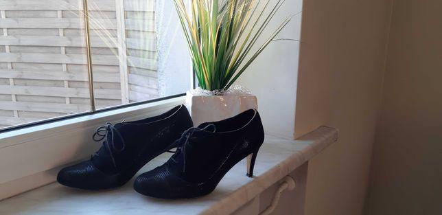 Buty damskie, czółenka, rozmiar 39