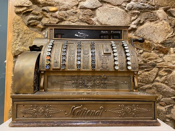 Máquina Registadora Antiga Nacional