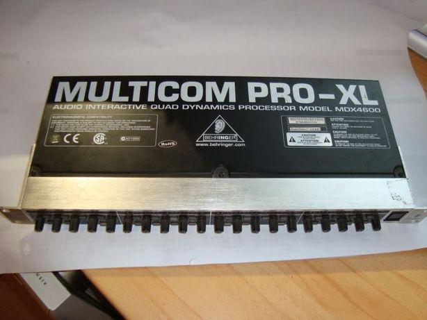 MULTICOM PRO-XL MDX4600 Procesor dźwięku 4 kanałowy