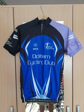 Koszulka kolarska na rower triathlon męska M