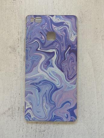 Nowa fioletowa obudowa silikonowa na huawei p9 lite