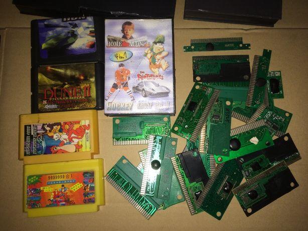 Картриджи Sega игры СЕГА картриджи 16 bit кассеты