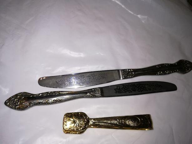 Мельхиоровые ножи СССР