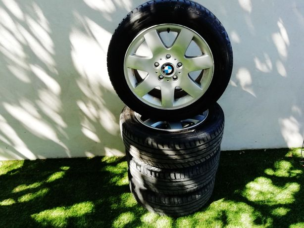Jantes bmw originais  7jx16h2 com pneus 205 /55 /16