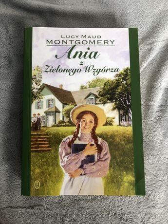 """Książka """"Ania z Zielonego Wzgórza"""" - Lucy Maud Montgomery"""
