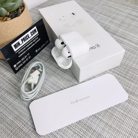 Беспроводные наушники аерподс AirPods Pro 4 mini блютуз наушники