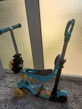 Самокат детский со съёмным сиденьем
