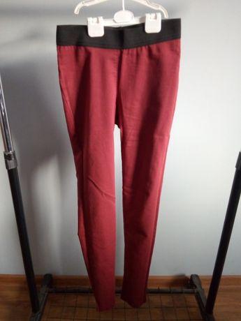 M&S Spodnie, legginsy, tregginsy r S