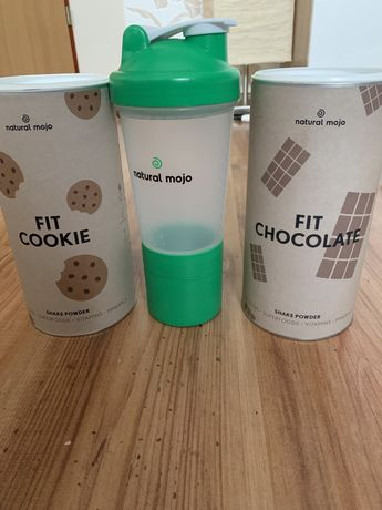 Shake natural mojo fit cookie fit chocolate shaker