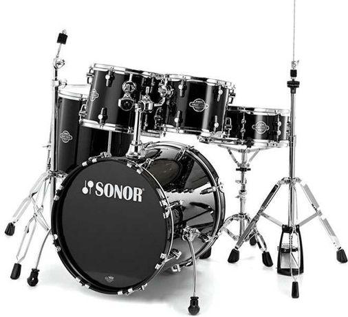 promocja! nowa perkusja Sonor SMF 11 Smart Force Stage 1 BK bębny