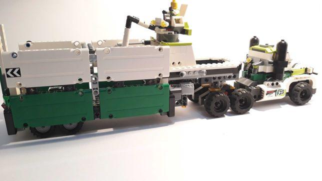 Duża ciężarówka lego