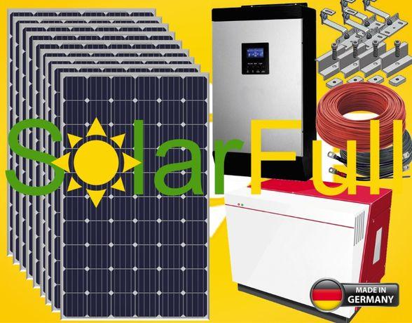 Kit – Lithium 7 Kwh habitação solar fotovoltaico10kw Prod. 3350w