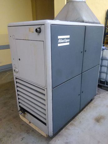 kompresor ATLAS COPCO GA 37 kW ze zbiornikiem