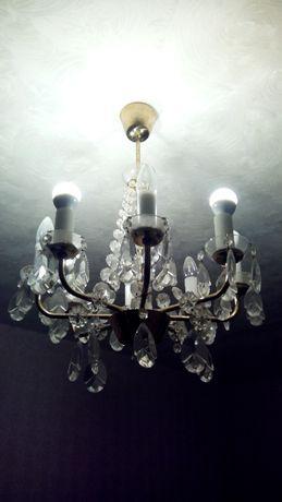 Люстра хрустальная Чехия на 8 ламп