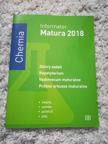 Informator matura chemia cke
