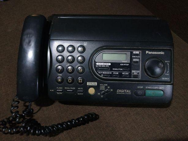 Телефон-факс Panasonic KX-FT37