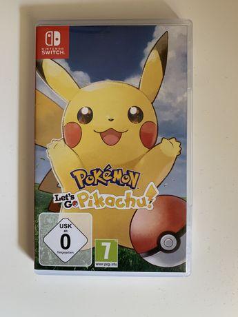 Pokemon Pikachu let's go Nintendo Switch - wymiana Wrocław