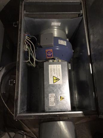 ВПА Вентиляция, приточная установка с подогревом.