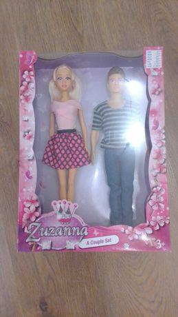 кукла сьюзанна с другом, в красивой упаковке