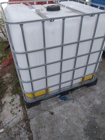Zbiorniki beczka mauzer 1000l paletopojemnik mauser