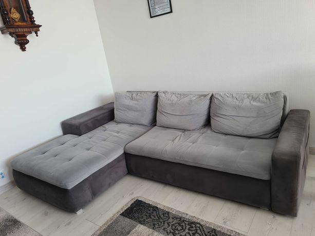 Narożnik Demi kanapa sofa z funkcja spania Agata Meble