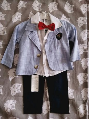 Продам новый летний костюм на мальчика 86 размер