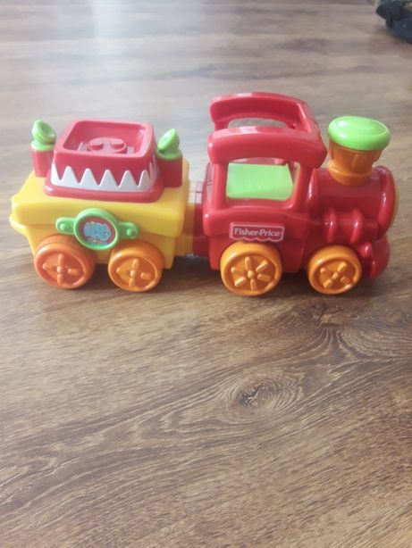 pociąg fisher price