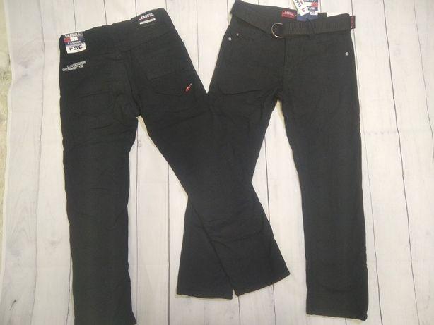 Коттоновые брюки на флисе 140-164. Венгрия Seagull