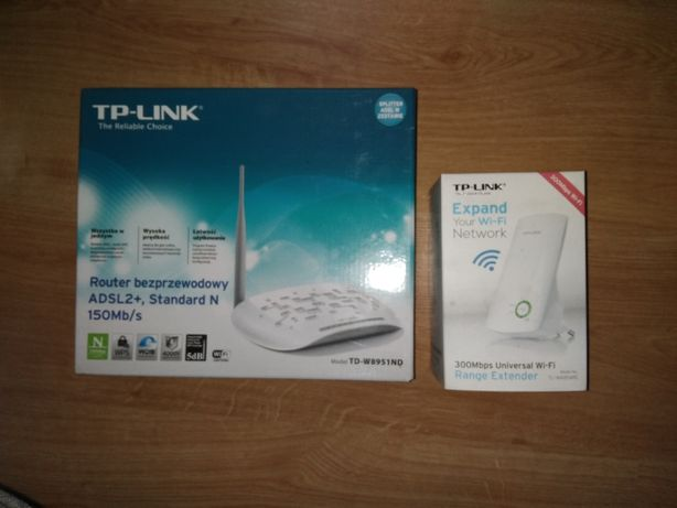 Routher Tp-Link plus rozsiewacz Wi-Fi