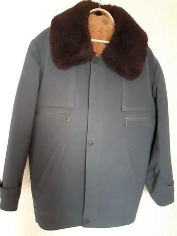 Куртка зимняя на натуральной овчине
