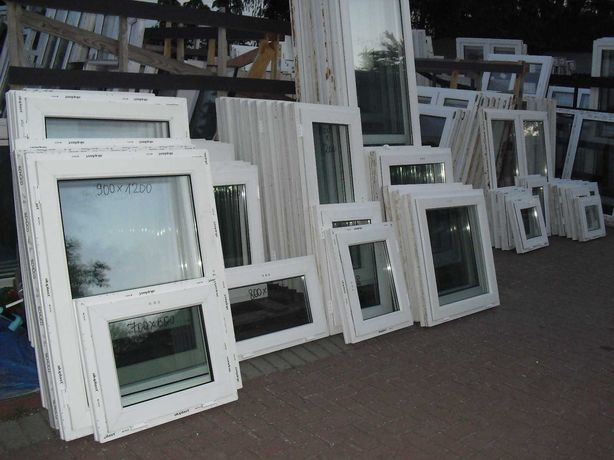 Okna Pcv z Demontażu z Niemiec 600 x 500 Szczecin - Sławociesze !