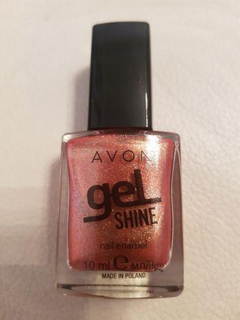 Perłowy lakier żelowy do paznokci Avon Let It Go